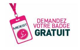 Demandez votre badge gratuit !